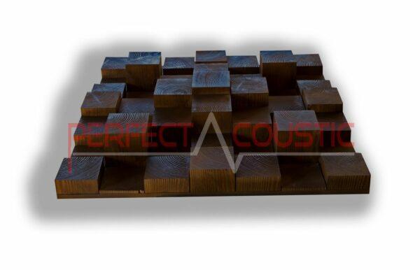 3D acoustic diffuser pattern