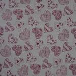 8 hjerte mønster