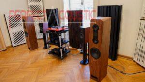 Akustisk absorber i Barabas villa ..