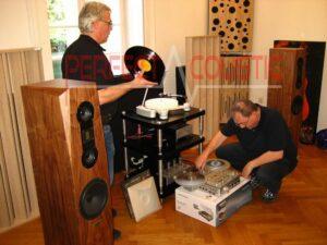 Akustisk absorber i Barabas villa