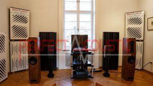 Akustisk panel i Barabás villa