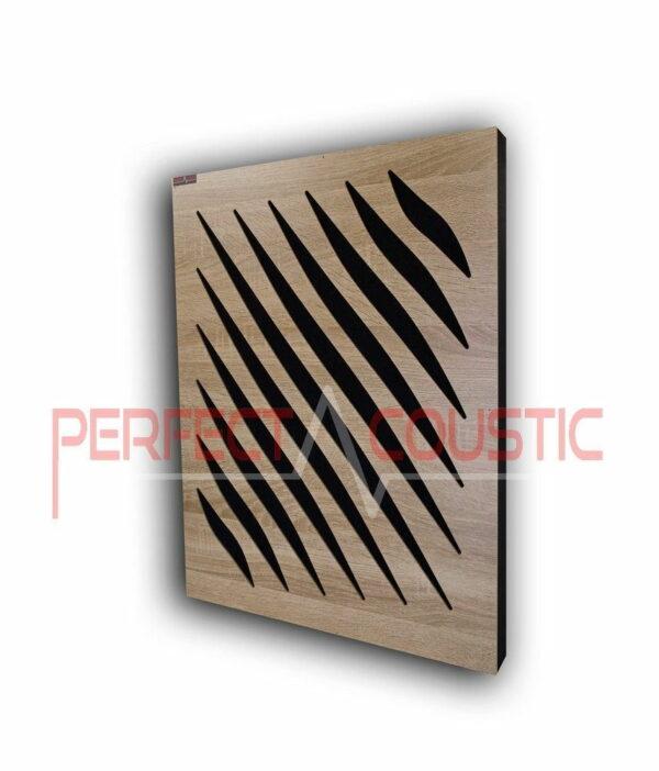 Akustisk panel med diffusormønstre (2)