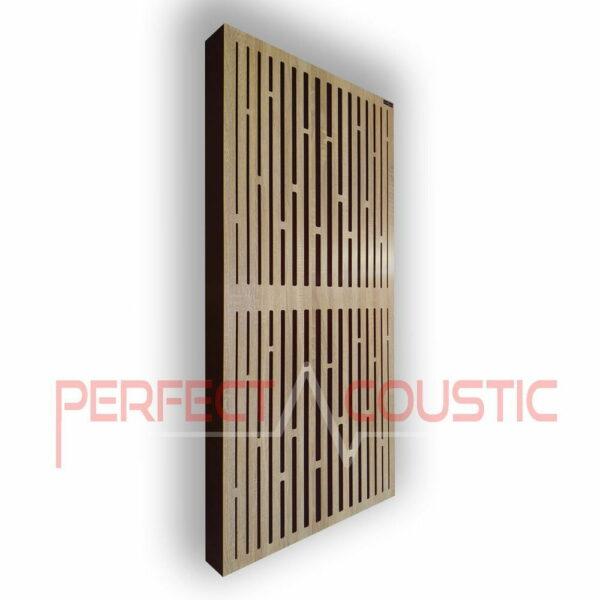 Akustisk panel med diffusormønstre (3)