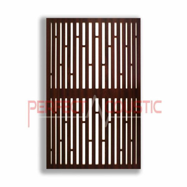 Akustisk panel med diffusormønstre (4)