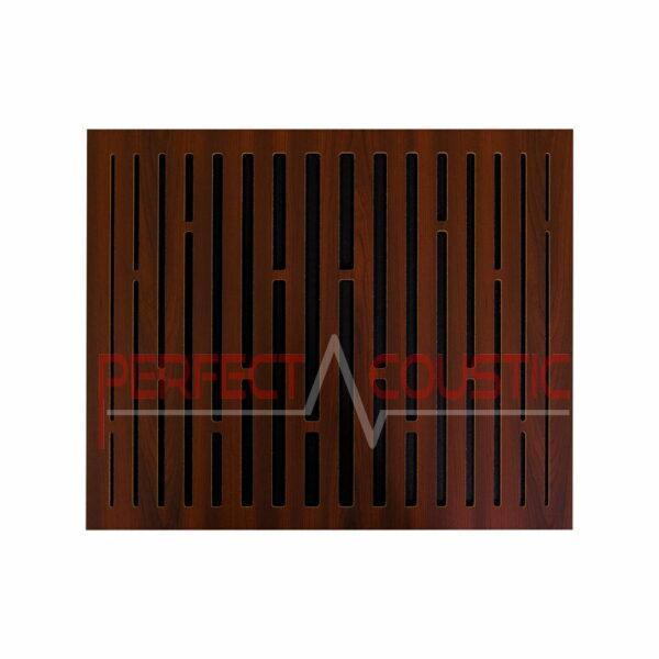 Akustisk panel med diffusormønstre i gitter (2)