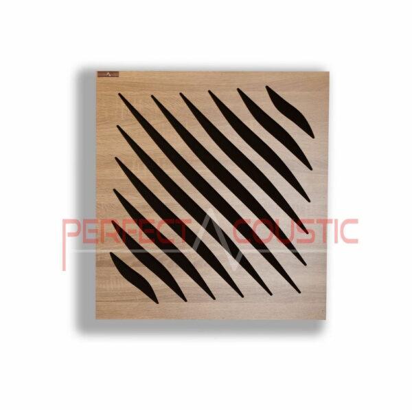 Akustisk panel med diffusortype (2)