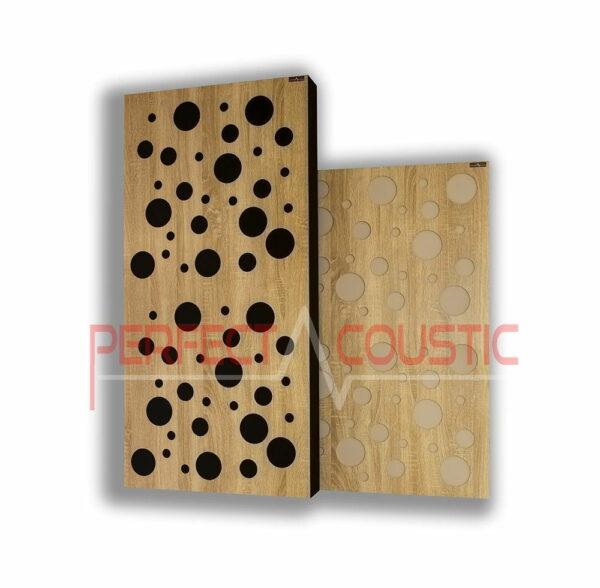 Akustisk panel med diffusortype-farve (4)