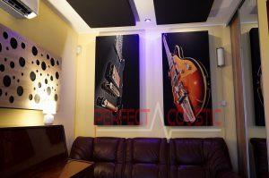 Akustiske vægpaneler