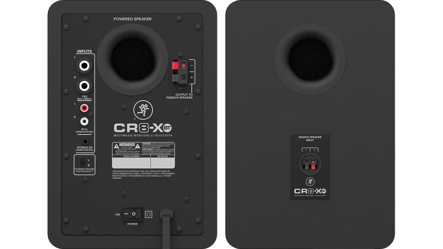 CR8-XBT baghøjttalere