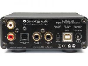 Cambridge Audio Dacmagic 100 indietro