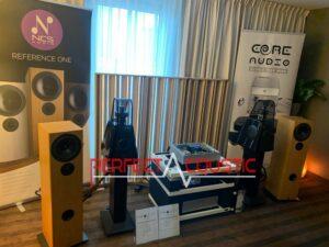 Core Audio hifi-show, præsentation af akustisk absorber