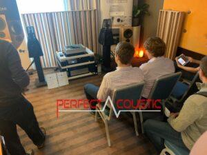 Core Audio hifi-show, præsentation af akustiske paneler (2)
