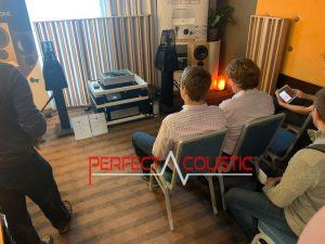 Core Audio hifi show præsentation af akustiske paneler