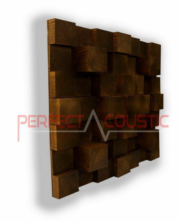 Cubic acoustic diffuser natur (3)