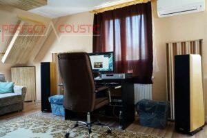 Hifi-rum akustikbehandling