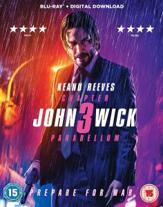 John Wick tredje og filmplakat