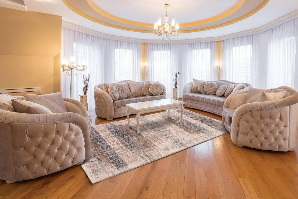 Luxury Harmony brunt mønster 12wsw-1 (3) Lydabsorberende tæppe