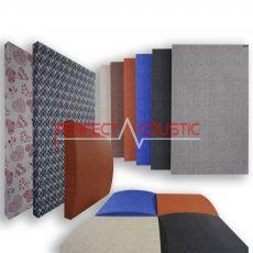 Mønstrede akustiske paneler