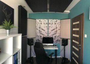 Perfekt akustisk lydabsorberende panel i et lille husstudio (3)