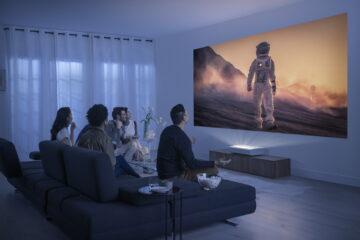 Samsung Premiere LSP9T projektor komplet tamaño