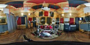 akustisk adskillelse af tromleudstyr