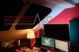 akustisk måling af tagstudiet