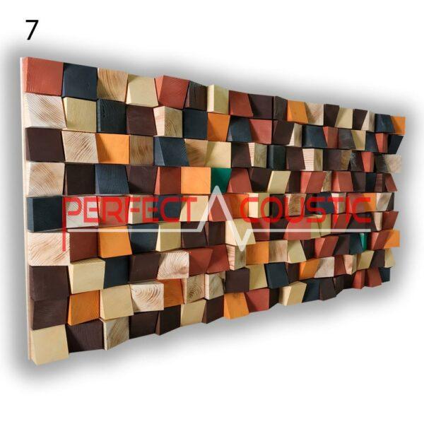 art acoustic diffuser 7 color samples, front. (1)