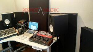 behandling efter studio akustisk måling