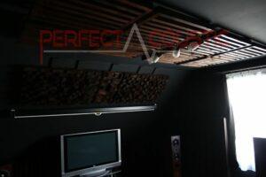 biografets akustikdesign med akustiske absorbere