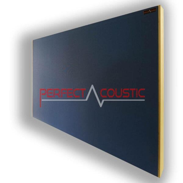 blå akustisk loftspanel.