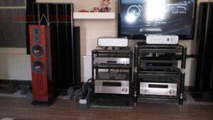 brug af akustiske diffusorer bag højttalerne (2)