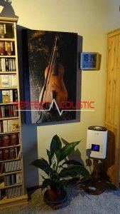 foto akustisk panel ved siden af skabet