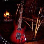 guitar spiller med foto akustiske elementer
