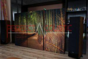 hifi udstillingsrum akustikdesign med akustiske absorbere (4)