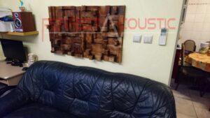 hjemmebiograf akustisk design med rustik akustisk diffusor (2)
