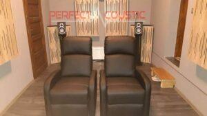 hjemmets akustiske design med diffusorens frontpanel akustiske paneler