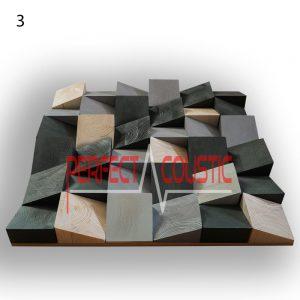 kunst akustisk diffusor lys 3
