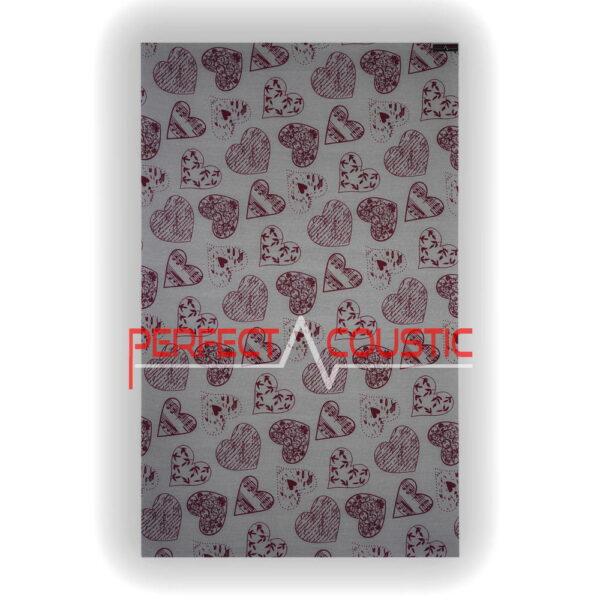 panel hjerte mønster