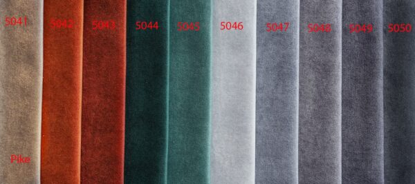 Pike sound absorbing curtains