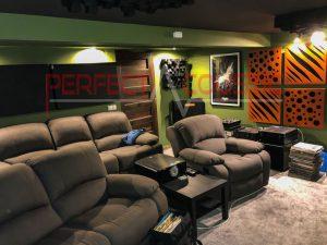 rum akustik design med akustiske absorbere