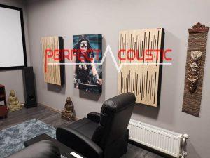 rum akustisk design med akustisk diffusor