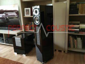 rum akustisk design med akustiske absorbere