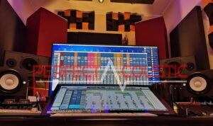 studio akustisk design