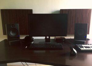 studio akustisk panel