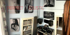 studioakustik med perfekt akustik