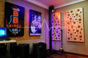 studioakustikmåling og akustisk behandling