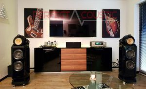 Akustikplader væg