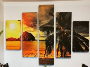væg foto akustiske paneler