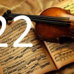 violin trykt akustisk panel